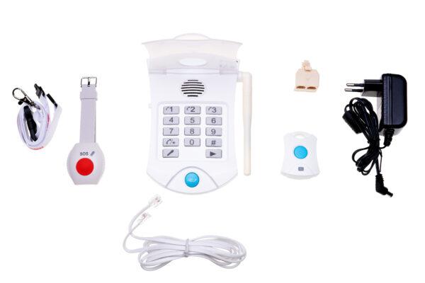 Alarmsysteem-totaalpakket