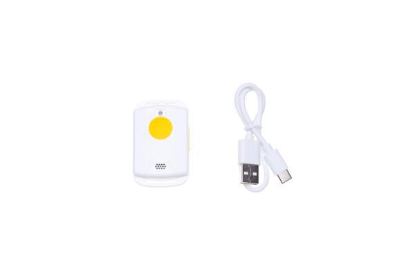 Paniekknop met USB kabel