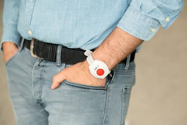 Alarmknop-Horloge